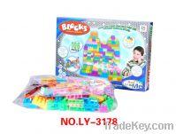 Buliding Blocks, Plastic Educational Toy  (106PCS/Box)