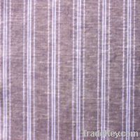 Sell 55%linen 45%cotton yarn dyed fabric