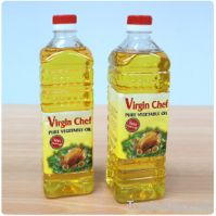 Sell refined sunflower oil , and other vegetable oil