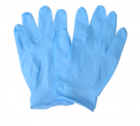 NITRILE MEDICAL LATEX POWDER FREE HAND GLOVES