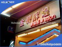 Super color led signs , brand new led pixel lights , RGB series