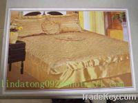 Bedspread, Sheet, Pillowcase, Slipper