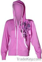 Ladies Pink Hoodies