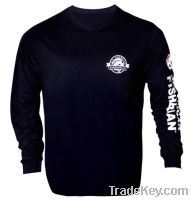 long sleeves High GSM T-shirts (Black)