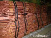 Sell Premium Copper Cathode and Copper scrap