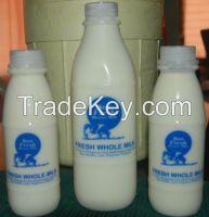 Cow's milk, whole, fresh
