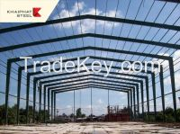 Design, production and installation pre-engineered steel buildings, assembled box houses, warehouses