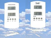 Electronic room thermometers & hygrometer