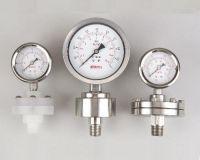 Diaphragm pressure gauge - Thread type