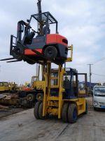 Used  Komatsu FD100 Forklift Japan