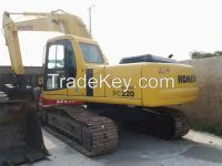 Used Komatsu PC200-6 Crawler Excavator