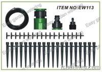 garden irrigation. Micro irrigation kits