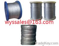 Sell Galvanized steel wire rope