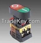 double heads on-off  START STOP Momentary push button switch