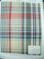 Sell linen cotton shirting fabric for spring and summer