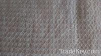 Sell linen cotton interweave dobby pink garment fabric