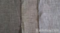 Sell pure linen 9X9 heavy suit yarn dyed fabric