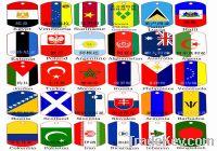 Sell dog tag (national flag dog tag )