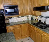 Sell Kitchen Wooden Cabinet and Kitchen Granite Countertops