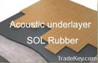 Acoustic under layer, soundproof matting