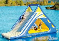 Sell water floating, inflatable water slide