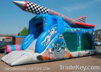 Sell plane jumping slide, obstacle