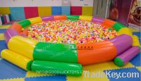 Sell balls pool, moonwalk pool