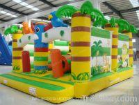 Sell inflatable bouncer moonwalk bouncy slide