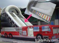 Sell Inflatable slides, emergency truck slide