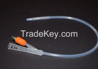 HK-17384 All Silicone Foley Catheter