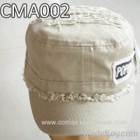 Sell Army Cap, Military Cap; Washed Bucket Cap