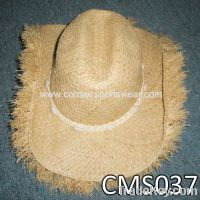 Sell Hot Sale!! 100% Natural Straw hat with logo band