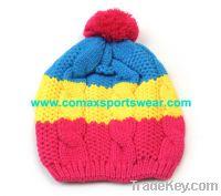 Sell fashion acrylic knitted hat, knitting hats