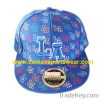 Sell Flat cap embroidered(100% Cotton Twill)