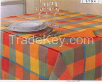 Yarn Dyed Check Table Cloth