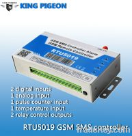 New arrival King pigeon GSM RTU, sms controller, temperature alarm