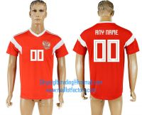 2018 WORLD CUP Russia home aaa version any name FOOTBALL JERSEY
