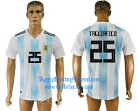2018 WORLD CUP Argentina home aaa version any name FOOTBALL JERSEY