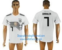2018 WORLD CUP Germany home aaa version any name FOOTBALL JERSEY