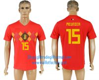 2018 WORLD CUP Belgium home aaa version any name FOOTBALL JERSEY