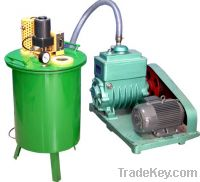 vacuum chamber and pump