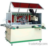 single color automatic screen printing machine