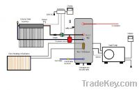 solar collector and heat pump system