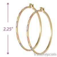 Sell 2mm Bangle Hoop Earrings