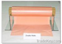 Sell ED Copper Foils for Li-ion Battery (Double-matte)