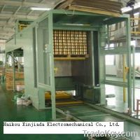 Automatic high speed empty tin cans palletizer (palletizing machine )