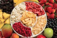 All kinds of freeze dried fruits