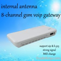 internal antenna 8 gsm voip gateway
