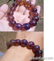 Sell Beads Blue Amber