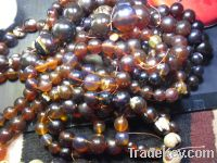 Sell beads red amber